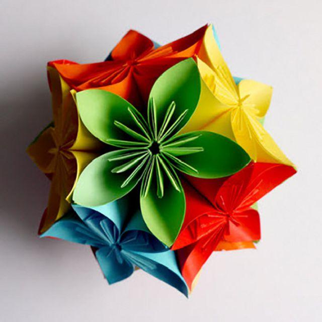 Оригами из шаров