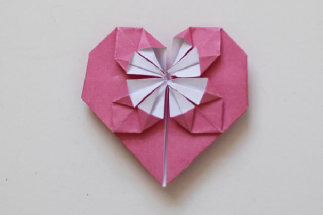 Сердце из бумаги своими руками фото 86