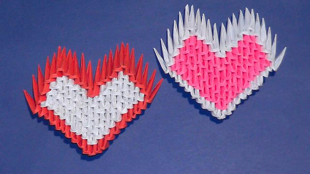 Оригами на пальцы схема