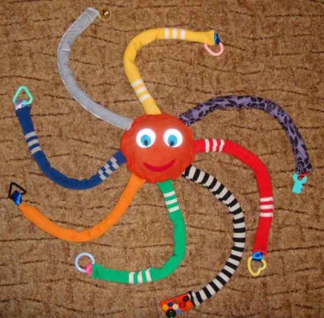 Ноги осьминога своими руками