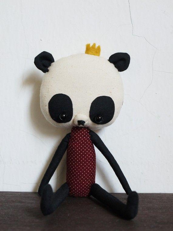 Мягкие игрушки панды своими руками