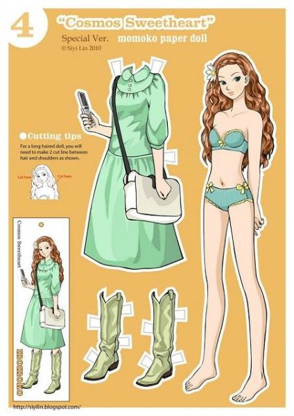 Выкройки платьев для кукол