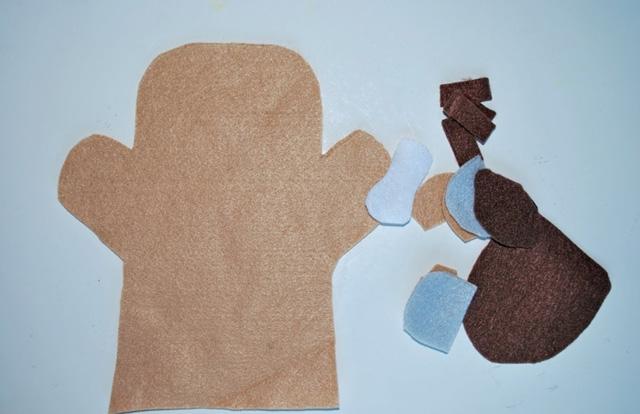 Мастер-класс по пошиву перчаточных кукол Модные платья