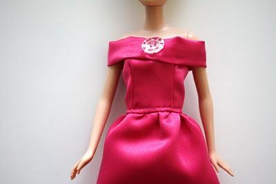 Как можно сшить платья барби