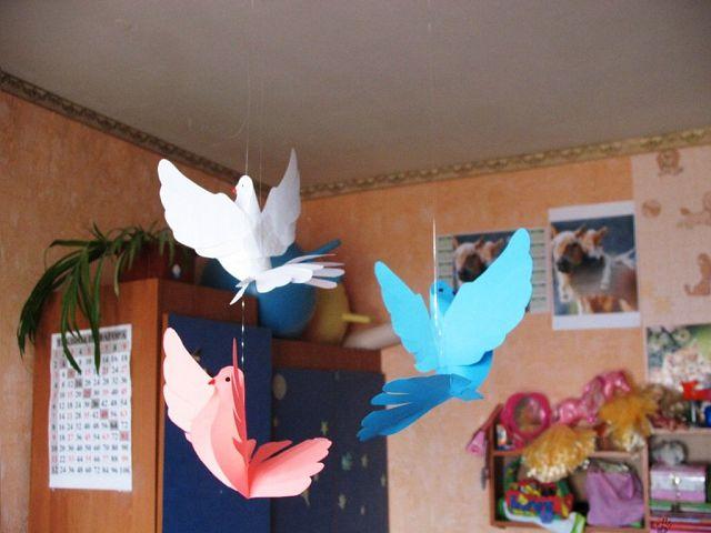 Как сделать птицу для конкурса