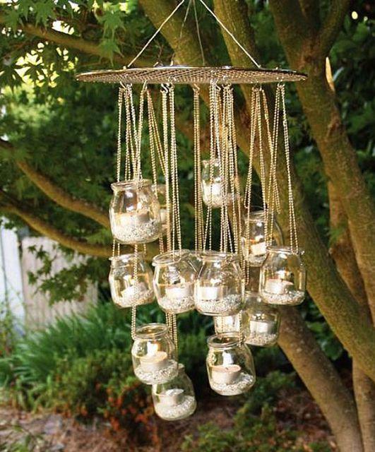 Идеи для декора сада своими руками фото