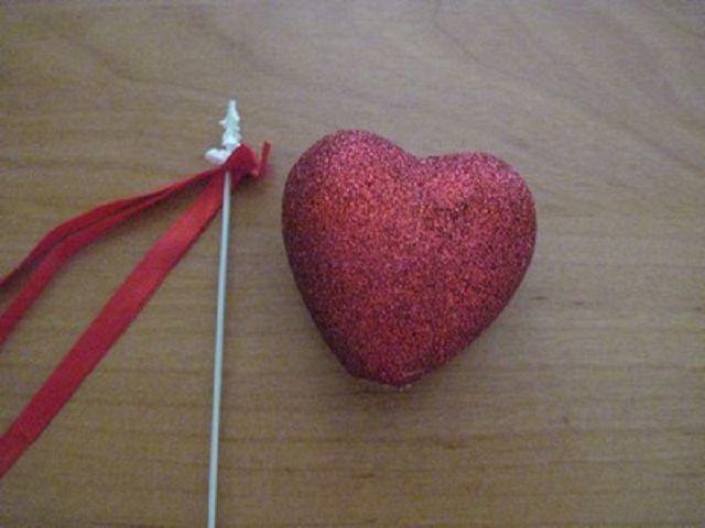 Как сделать основу сердце для топиария
