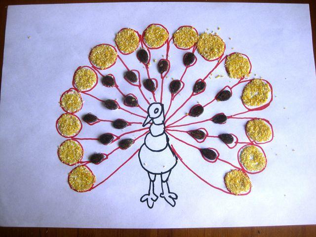 Картины из арбузных семечек своими руками фото 644