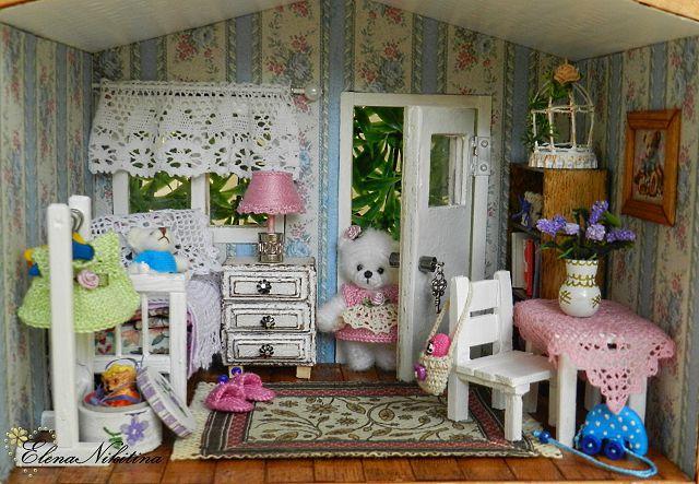 Аксессуары для кукольного домика своими руками