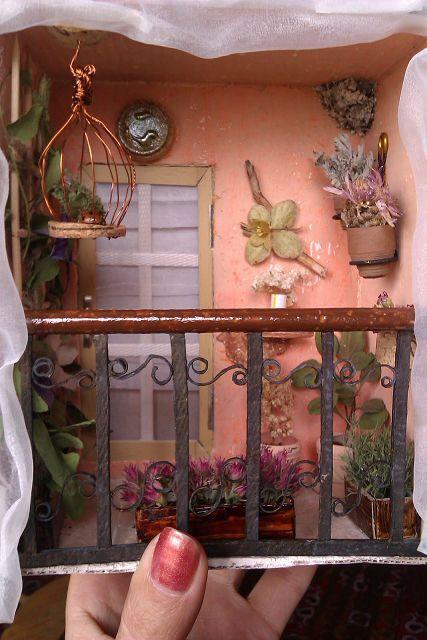 Как сделать балкон в кукольном