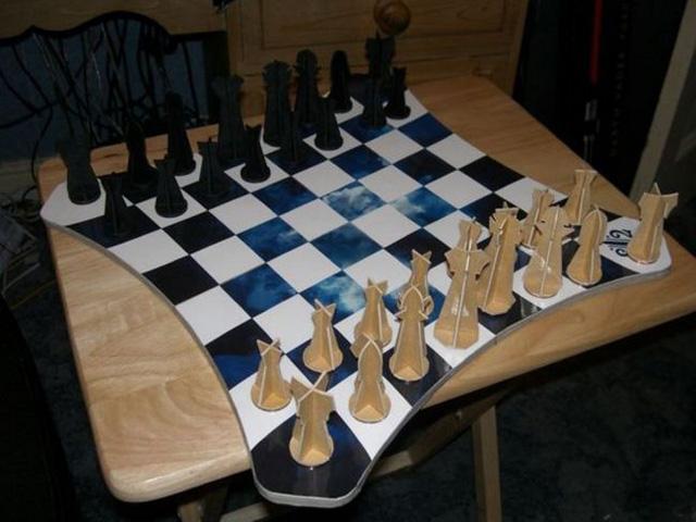 Сделать шахматы своим руками фото 23