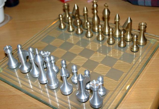 Шахматы своими руками на токарному станку