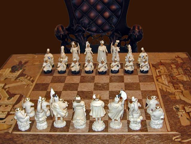 Сделать шахматы своим руками фото 82