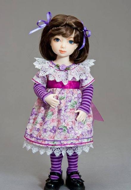Как сделать из ткани одежду для куклы