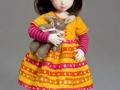 Шьем платье для куклы-2