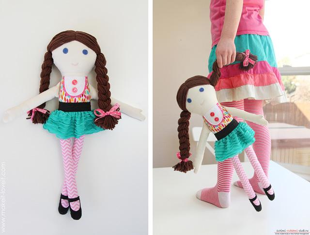 Куклы своими руками в домашних условиях из ткани