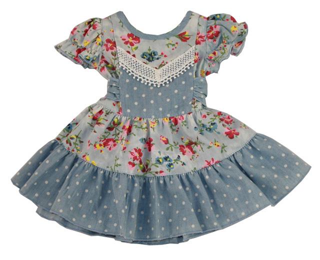 Платье для куклы шьем