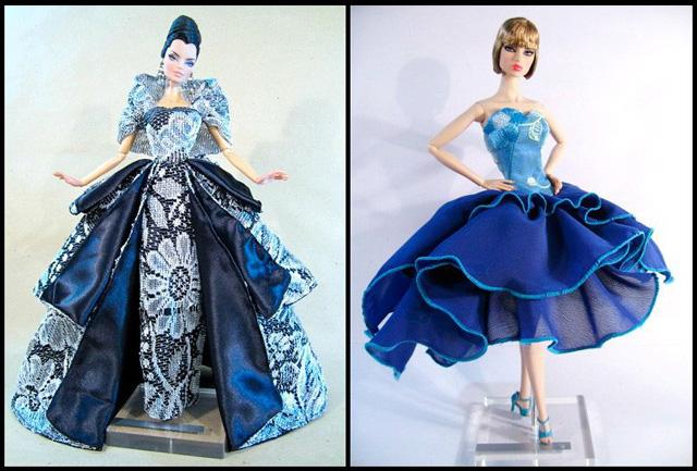 Как сделать платье для куклы для начинающих фото 918