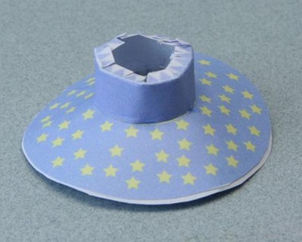 Шляпка из бумаги для барби мастер класс пошаговый #8