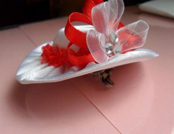 Шляпки для кукол мастер класс из ткани идеи #11