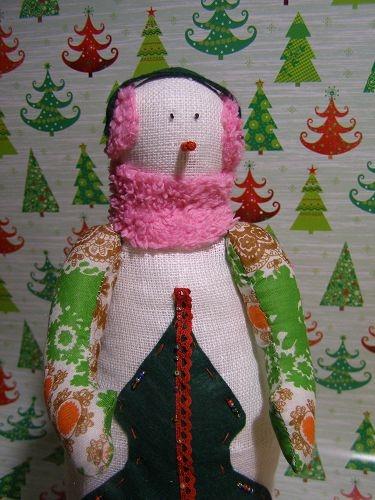 Как сшить снеговика и выкройка для него фото 905