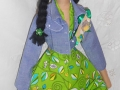 ручная работа, handmade, Ярмарка Мастеров,зелёный,тильда,тильда кукла,кукла ручной работы,кукла в подарок,кукла Тильда,интерьерная кукла,текстильная кукла,подарок,подарок девушке,подарок на любой случай,подарок на день рождения,подарок на 8 марта,подарок подруге,подарок мужчине,подарок женщине,подарок девочке,хлопок 100%,хлопок американский,шенил,пряжа мохер