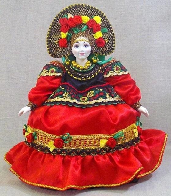 Кукла для чайника своими руками