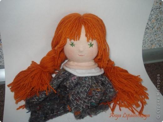 сделать волосы для куклы своими руками из ниток