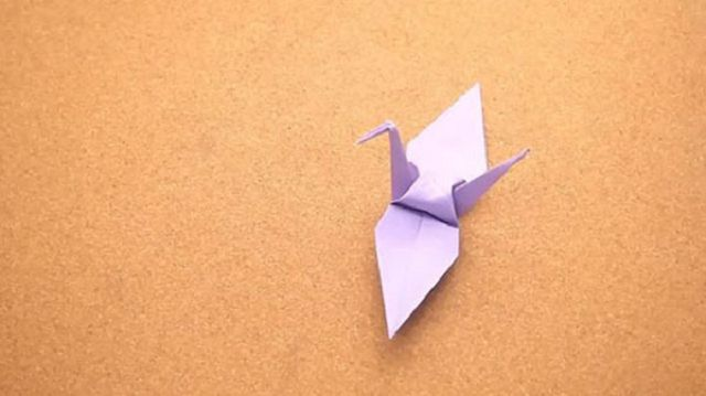 Как сделать голубя из бумаги оригами схема фото 431