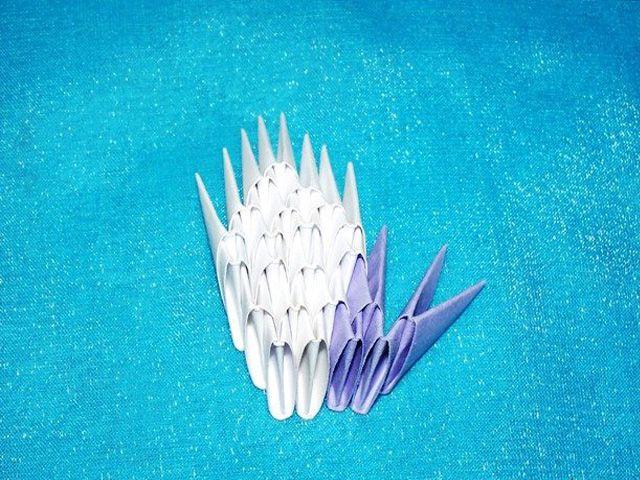 Как сделать голубя из бумаги оригами схема фото 422