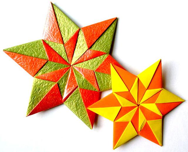 Звездочка из бумаги своими руками оригами