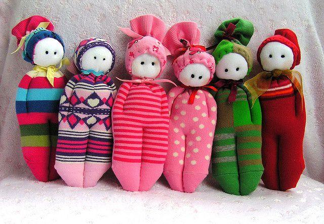Самые простые куклы своими руками фото 37