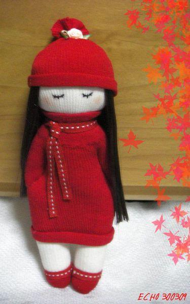 куколка из носков