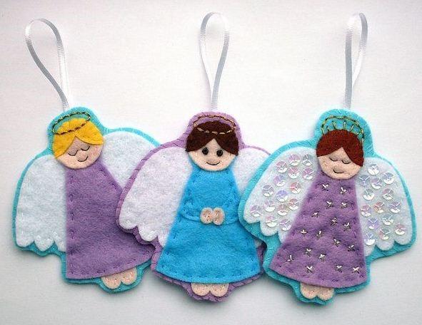 ангелочки из ткани своими руками