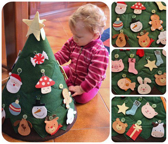 Детские поделки из картона на новый год своими руками