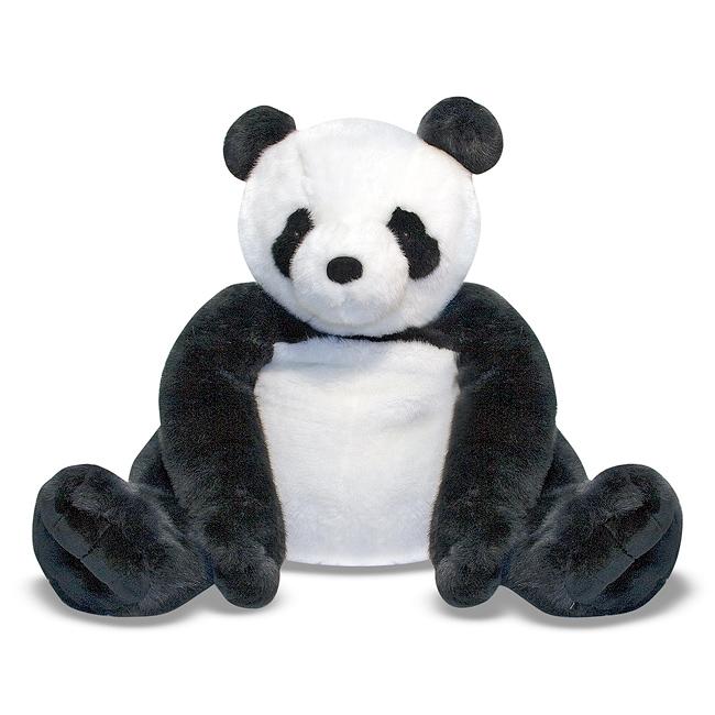 сшить панду