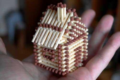 Как своими руками инструкция из сделать видео домик спичек пошаговая