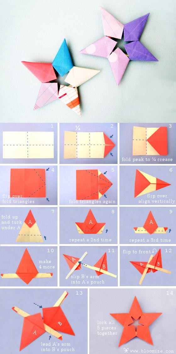 Как сделать оригами из бумаги своими руками книгу