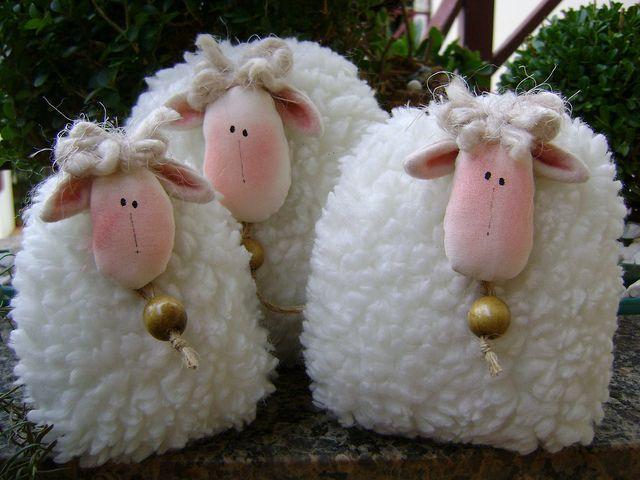 как сшить овечку