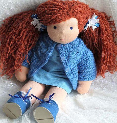 Разнообразие кукол из ткани своими
