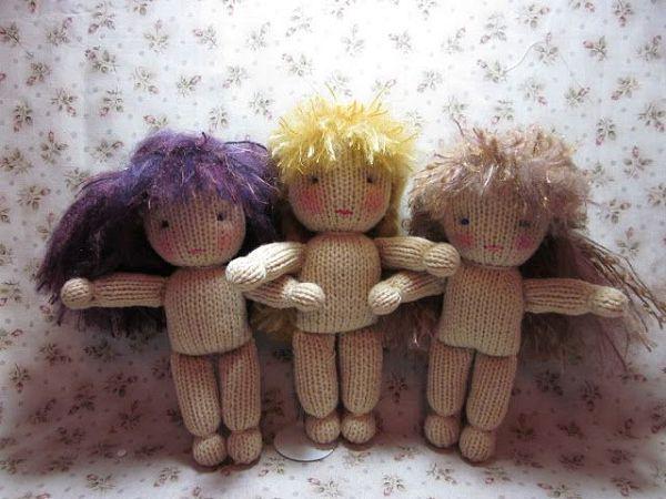 кукла спицами