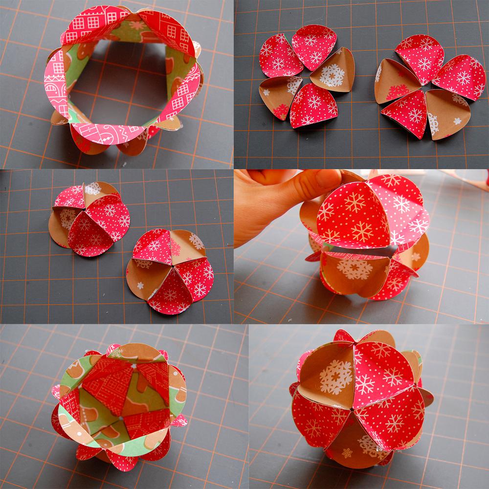инструкция шарик из бумаги