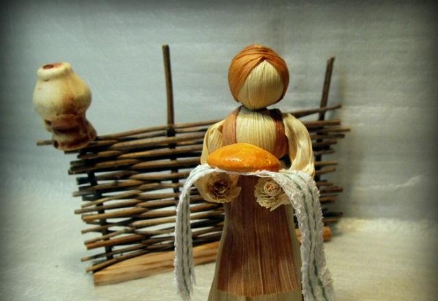 Лялька мотанка оберег из ниток своими руками