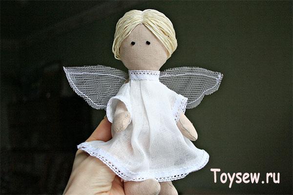 ангел из ткани