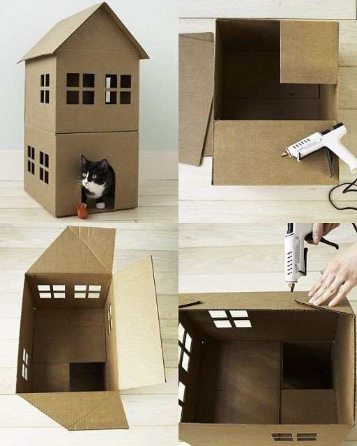 Дом для барби из коробок своими руками фото 141