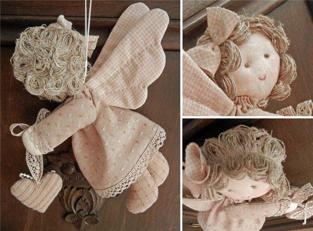 Куклы ангелы своими руками, как сделать, фото