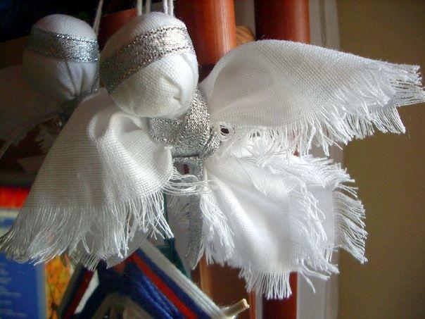 кукла ангел скрутка