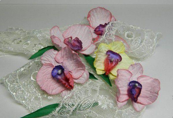 украшения орхидея