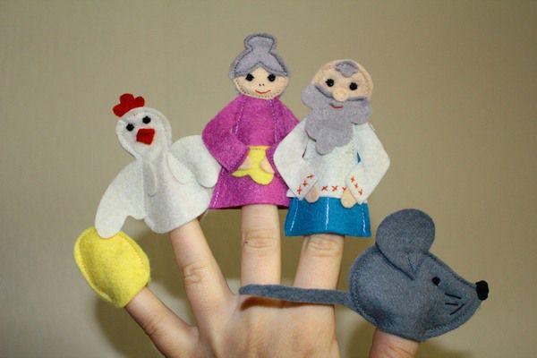 Как сделать своими руками куклы на палец
