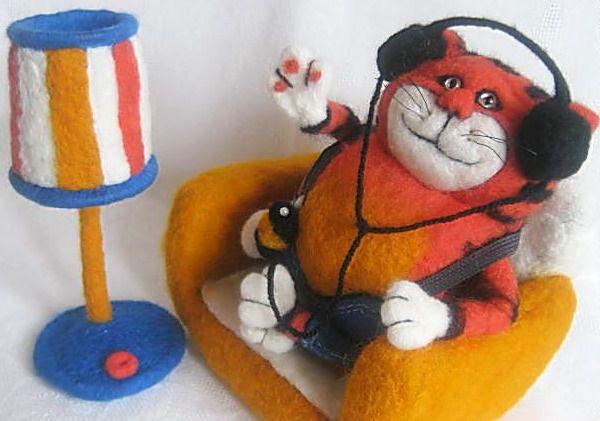 техника валяния игрушек